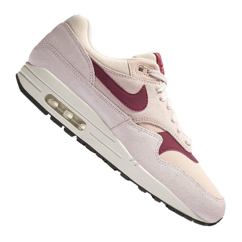 307a79fc53eaaa Nike Air Max 1 Premium Sneaker Damen Rosa F604 - rosa