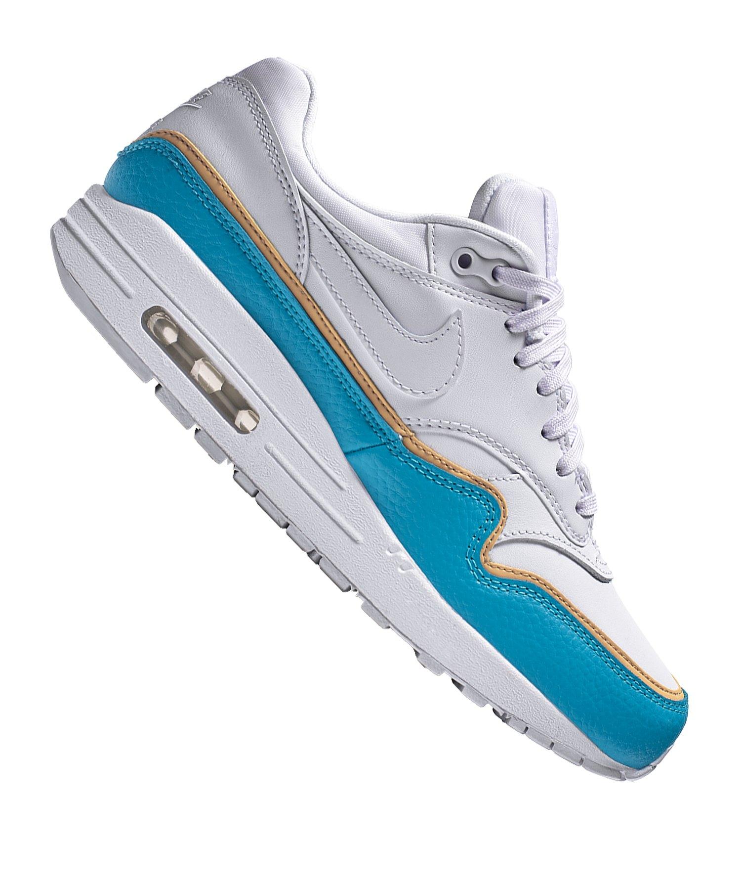 Nike Air Max 1 SE Sneaker Damen Weiss Blau F103