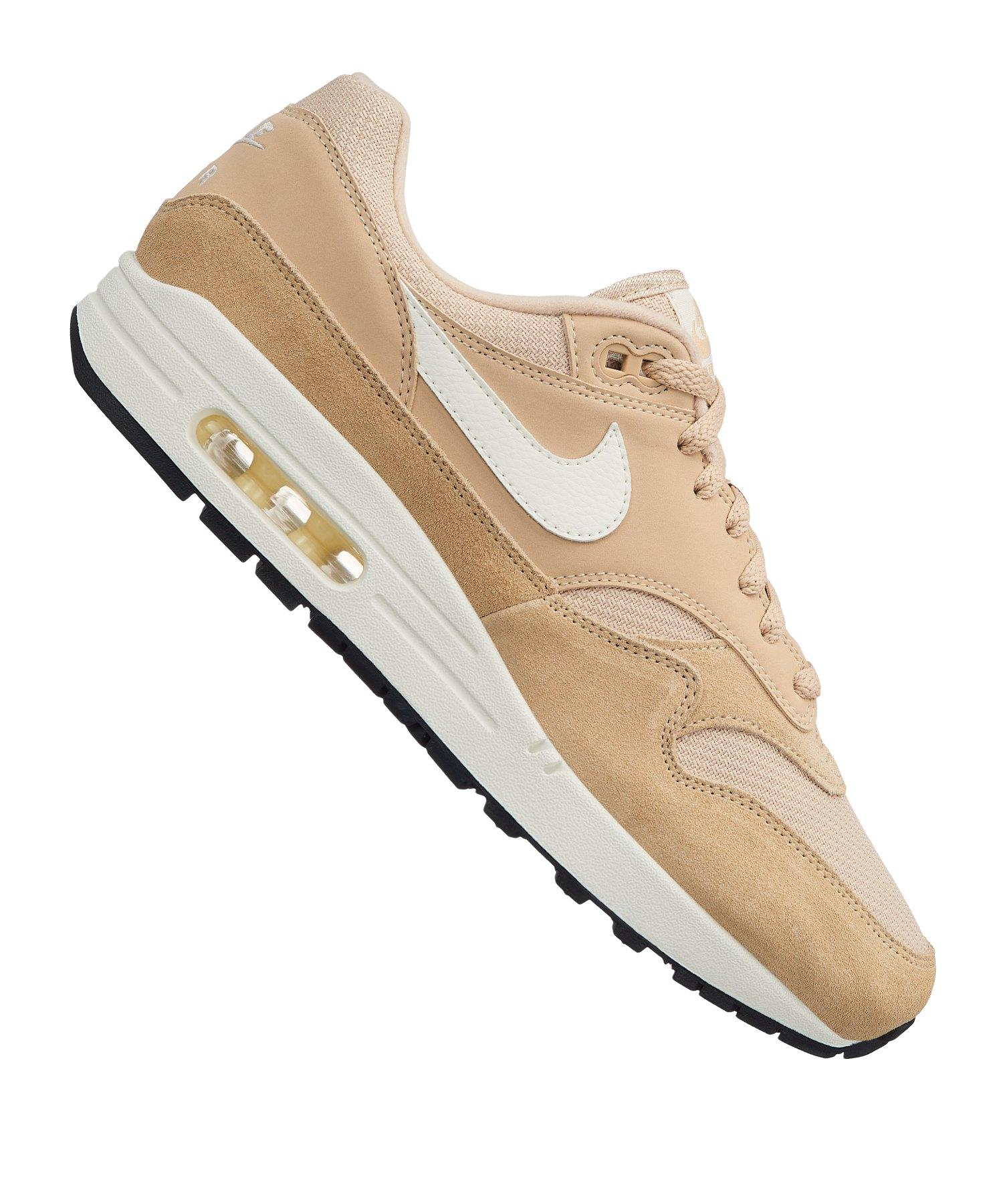 a16de1ff025d91 Nike Air Max 1 Sneaker Beige F202 - beige