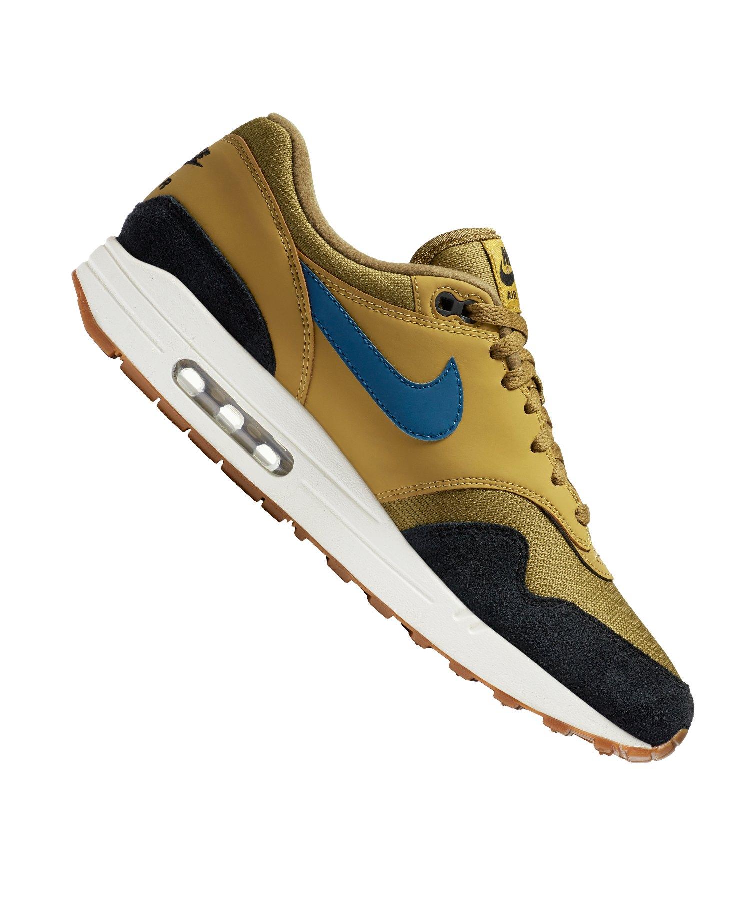 online store 439b2 57cbe Nike Air Max 1 Sneaker Braun F302 - braun
