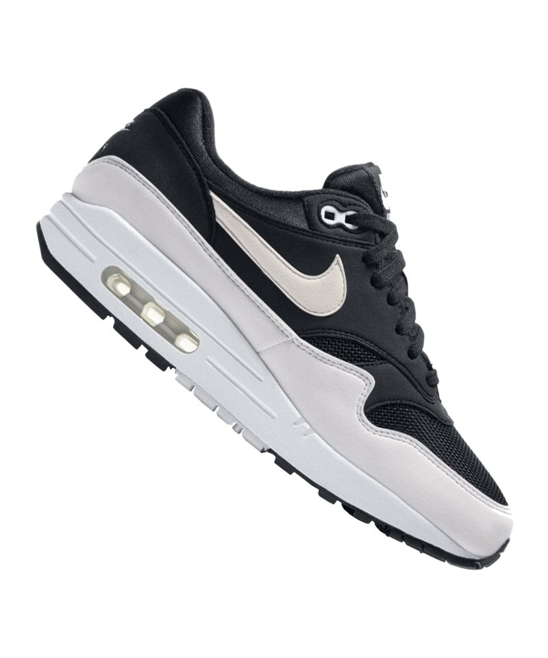 Nike Air Max 1 Sneaker Damen Schwarz Weiss F034 | Streetwear ...
