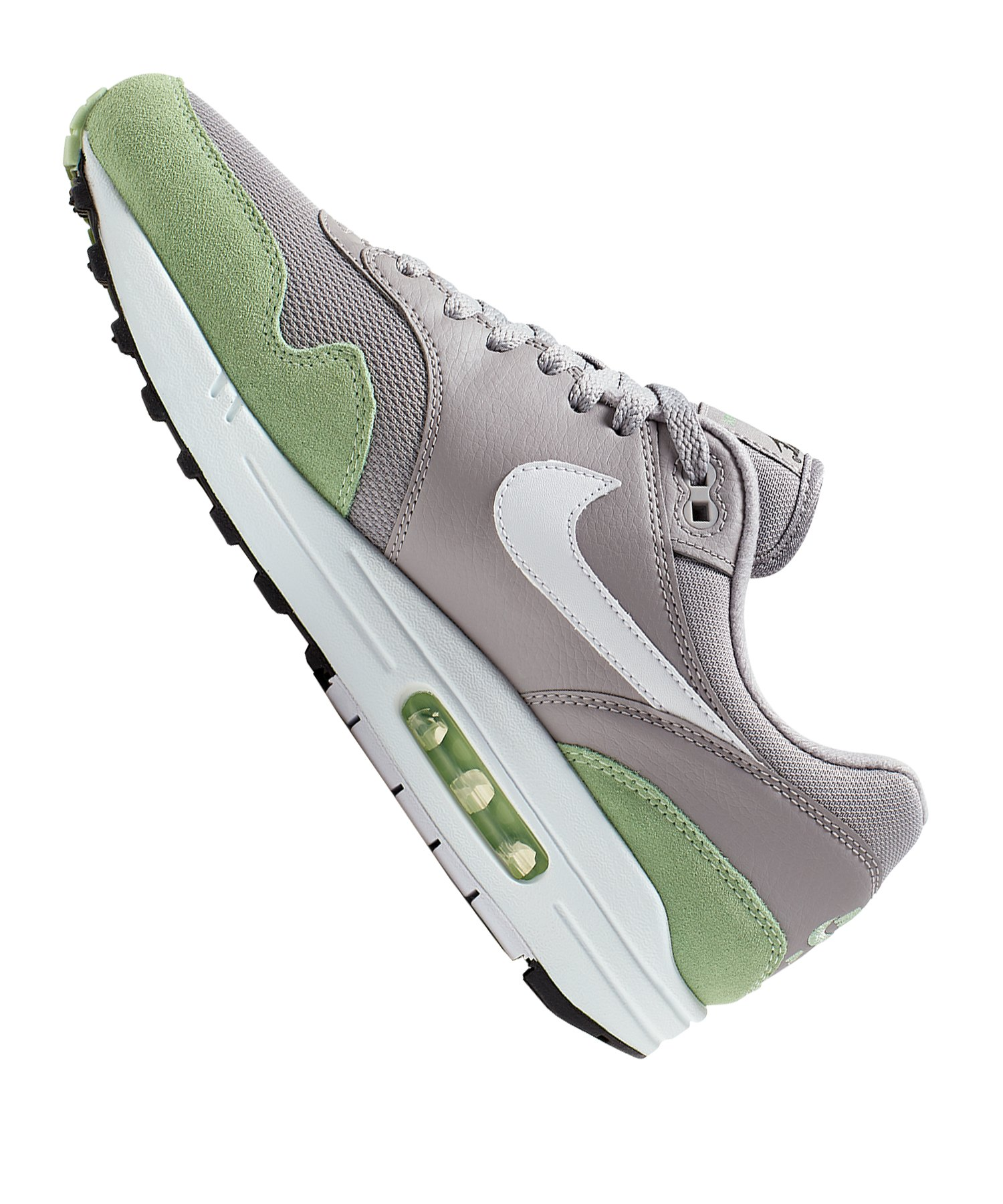 innovative design 856d3 a014b ... Nike Air Max 1 Sneaker Grau Grün F015 - Grau ...