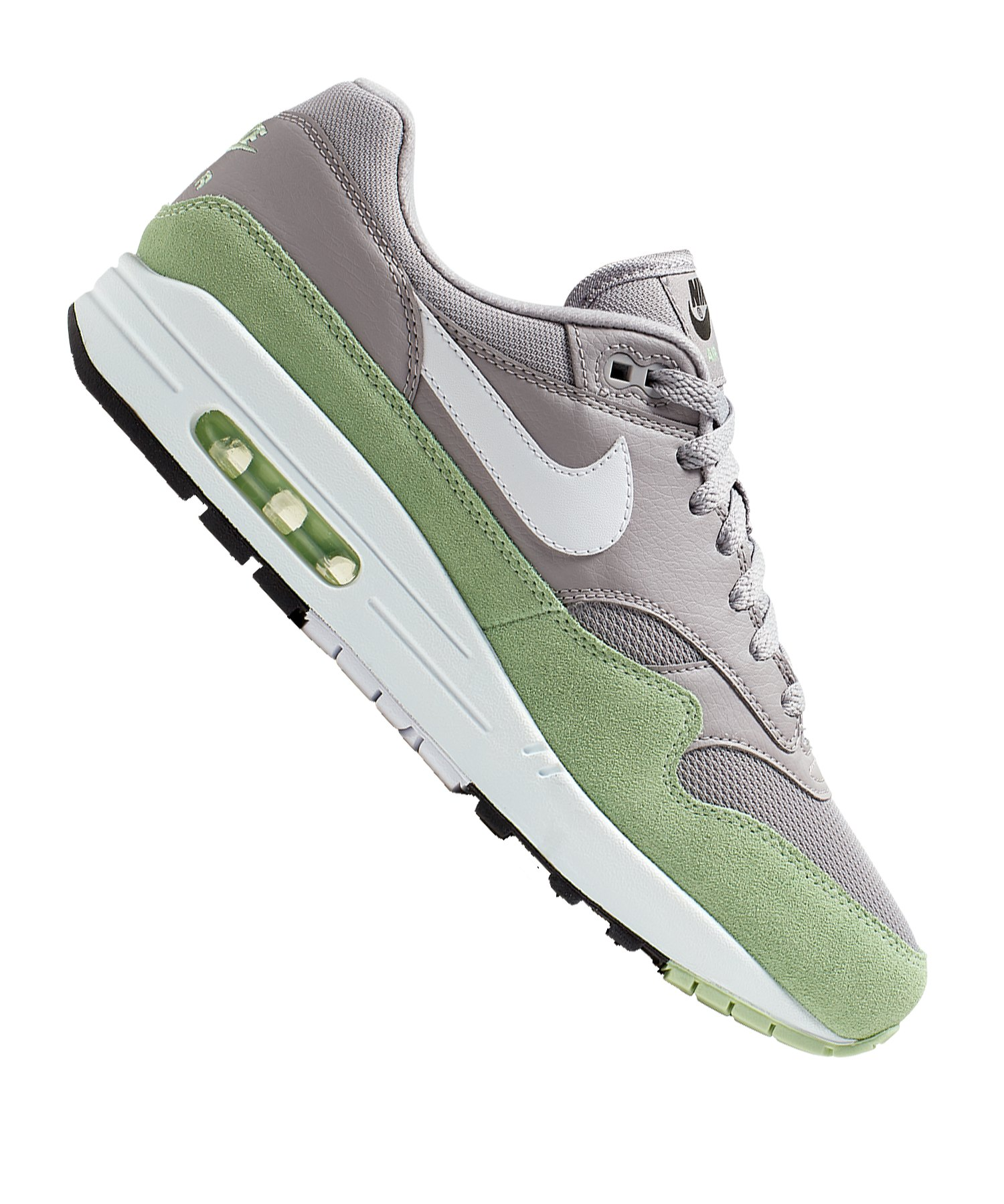 the latest d7c0d 14751 Nike Air Max 1 Sneaker Grau Grün F015