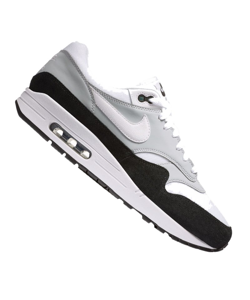 Nike Air Max 1 Sneaker Grau Weiss F003   Freizeit   Lifestyle ... c90d14dad2