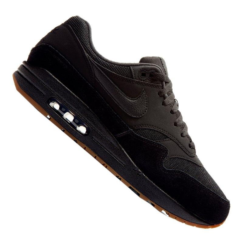 de7cc1bdb51bfc Nike Air Max 1 Sneaker Schwarz F007 - schwarz