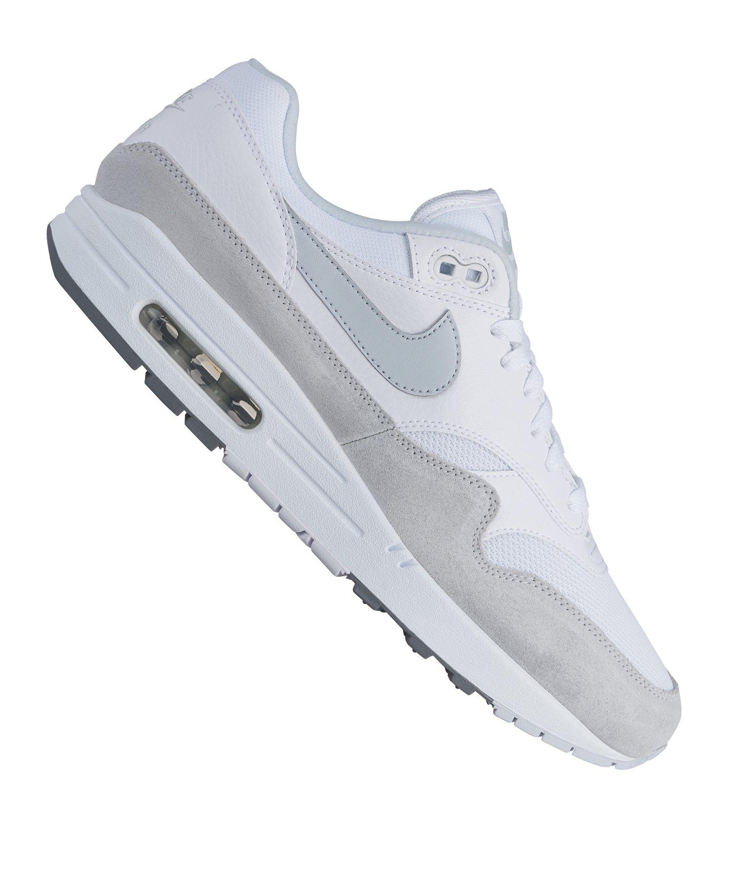 b3122665afdc6 nike schuhe herren wei       sneaker Nike Air Max 1 Sneaker
