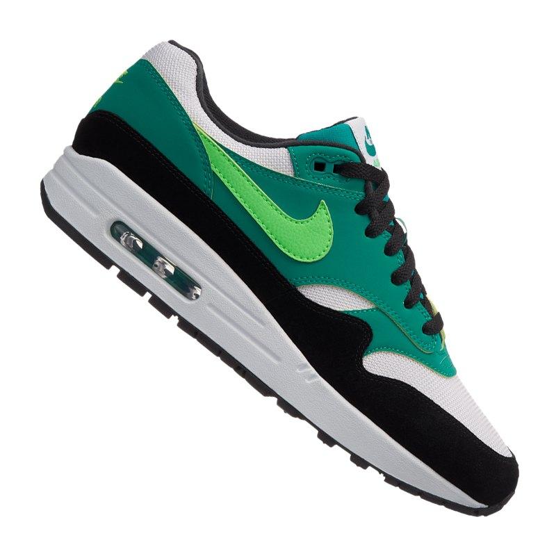 newest 34a4a 0e375 ... official nike air max 1 sneaker weiss grün f107 weiss 482e7 8b9fb