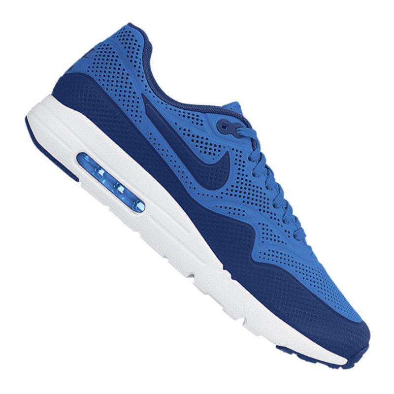4bf1e1dc400f Nike Air Max 1 Ultra Moire Sneaker Blau F401   Lifestyle   Freizeit ...