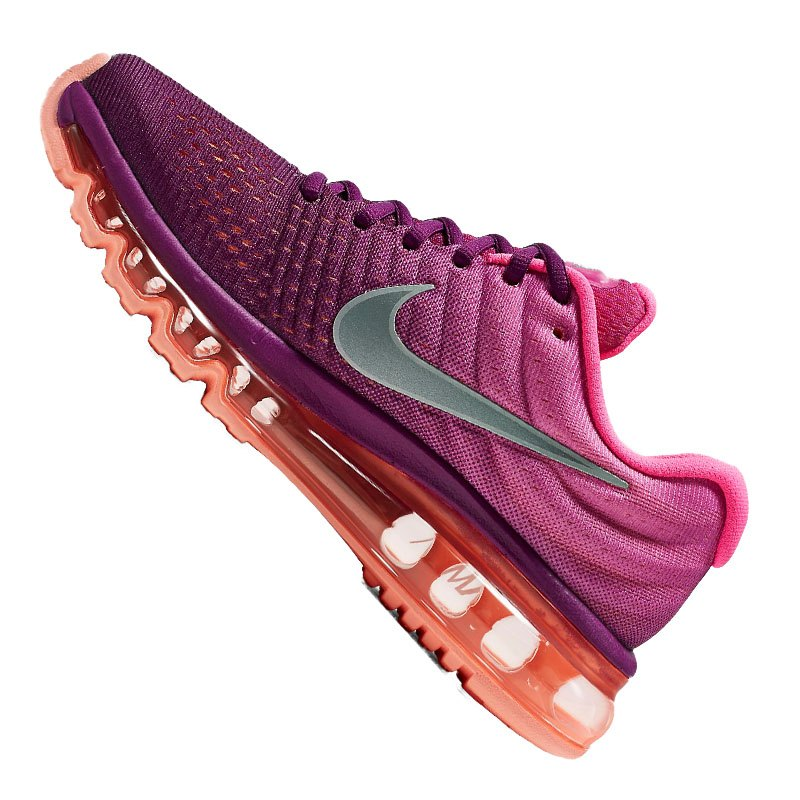 nike air max 2017 running damen pink weiss f502. Black Bedroom Furniture Sets. Home Design Ideas