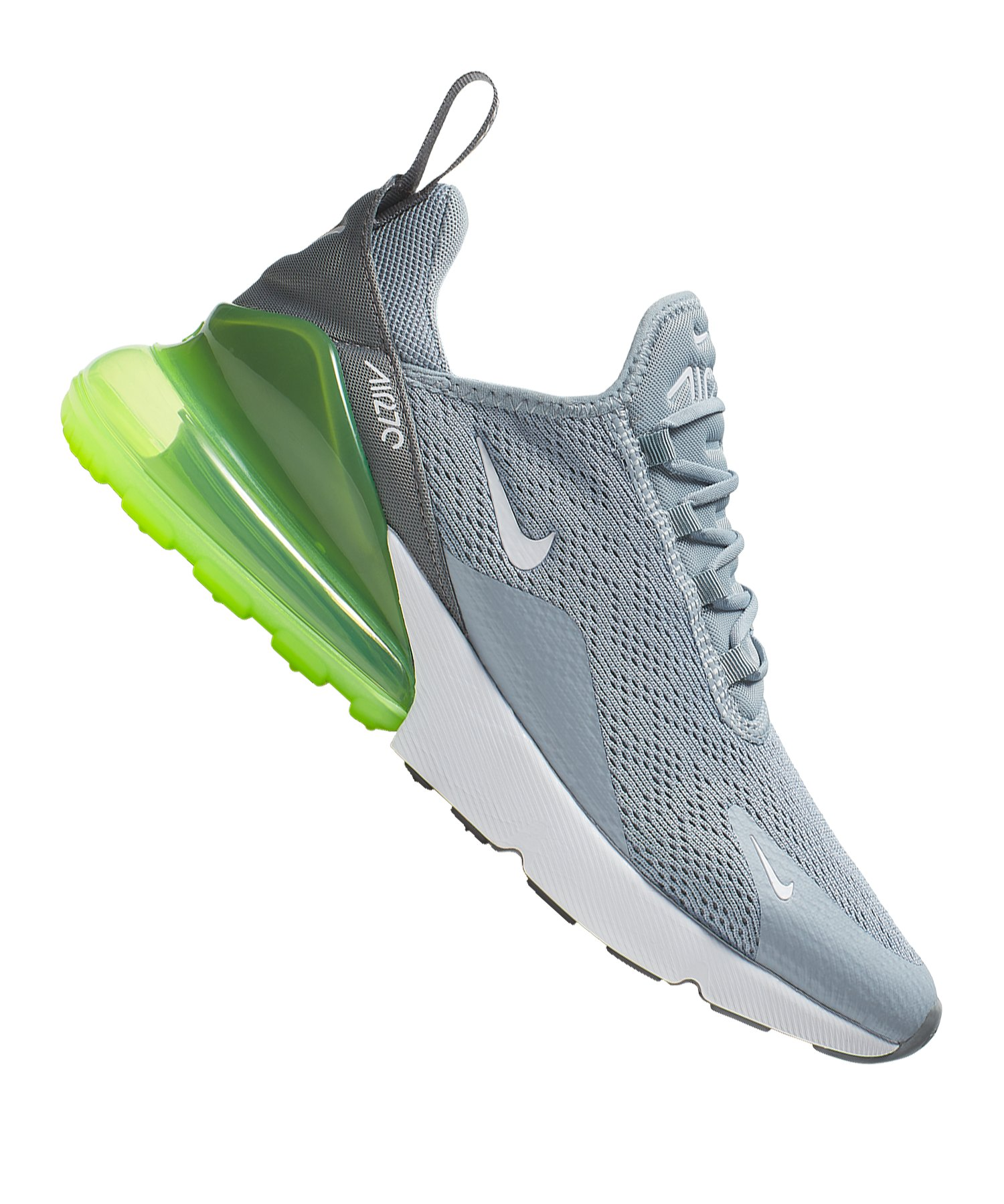 separation shoes f5a4e 53b41 Nike Air Max 270 Sneaker Damen Grau F404