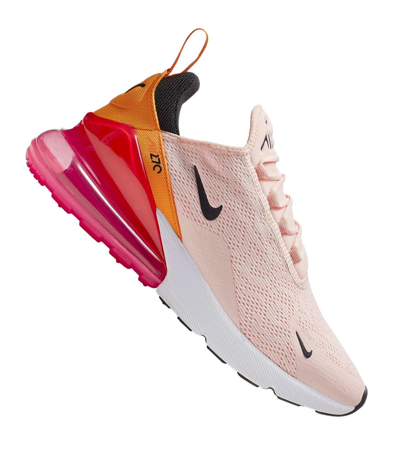 Nike Air Max 270 Sneaker Damen Rosa F603 |Lifestyle | Freizeit ...