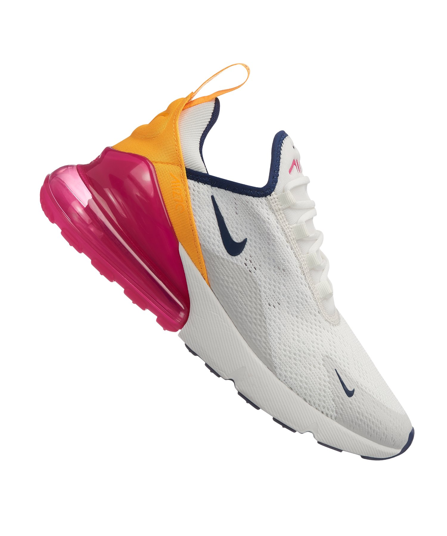 super popular 6df52 6b70b Nike Air Max 270 Sneaker Damen Weiss F106 - weiss