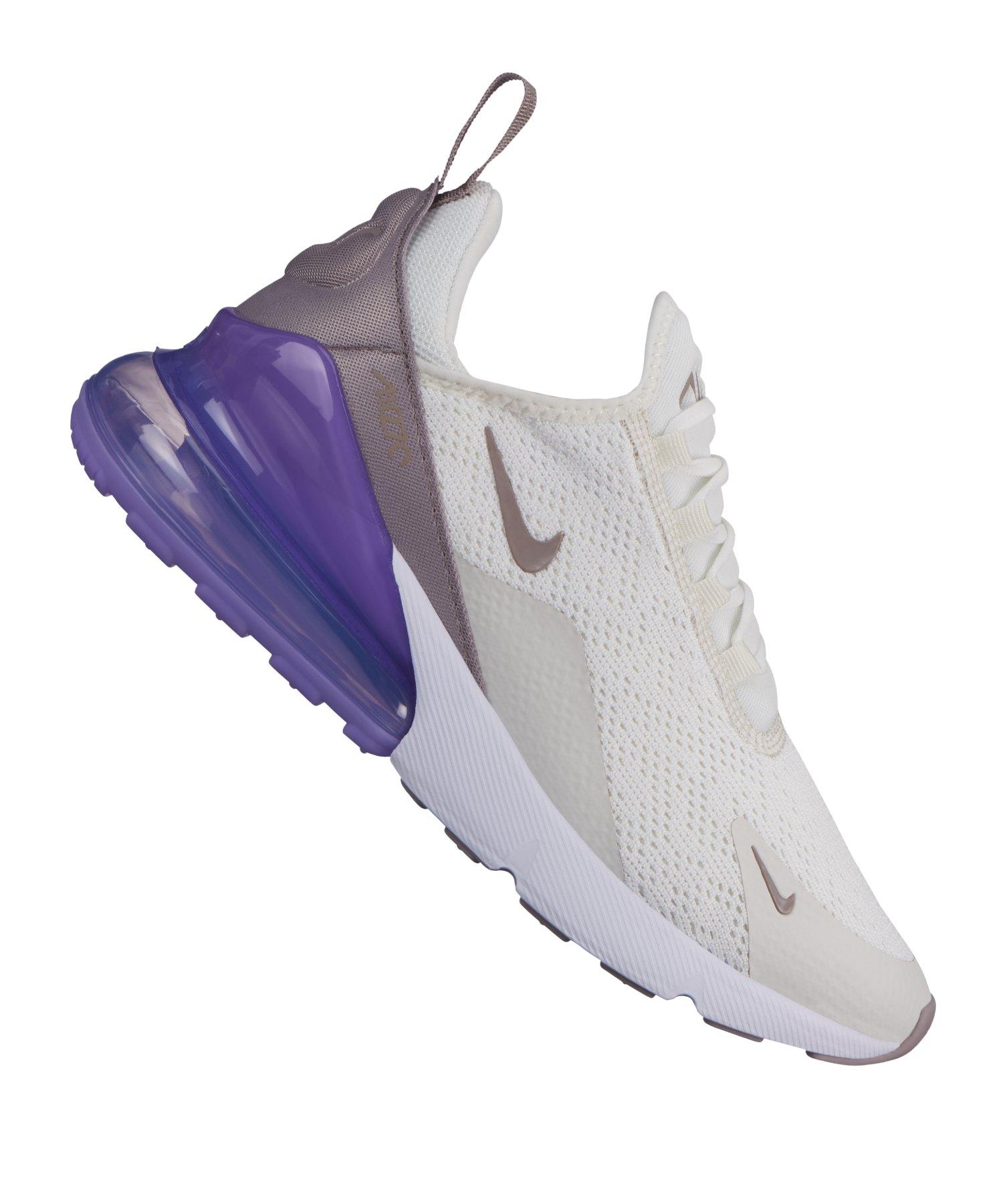 new styles 520ad 65f41 Nike Air Max 270 Sneaker Damen Weiss F107