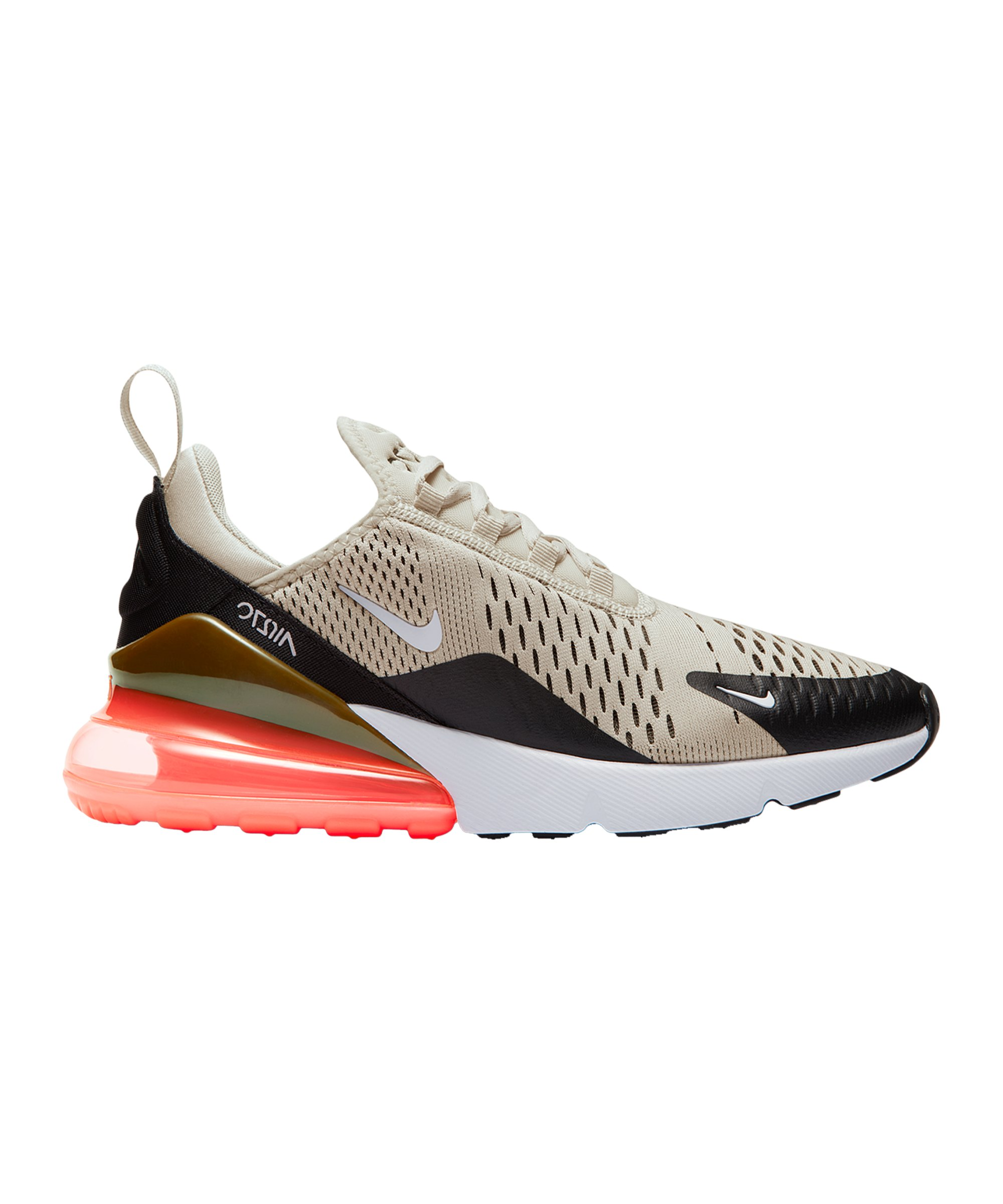 Nike Air Max 270 Sneaker Damen Beige Orange F014