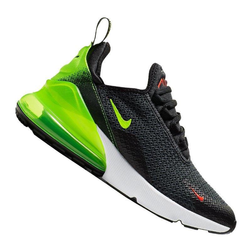 2903fd98be5277 Nike Air Max 270 Sneaker Kids Schwarz F001 - Grau
