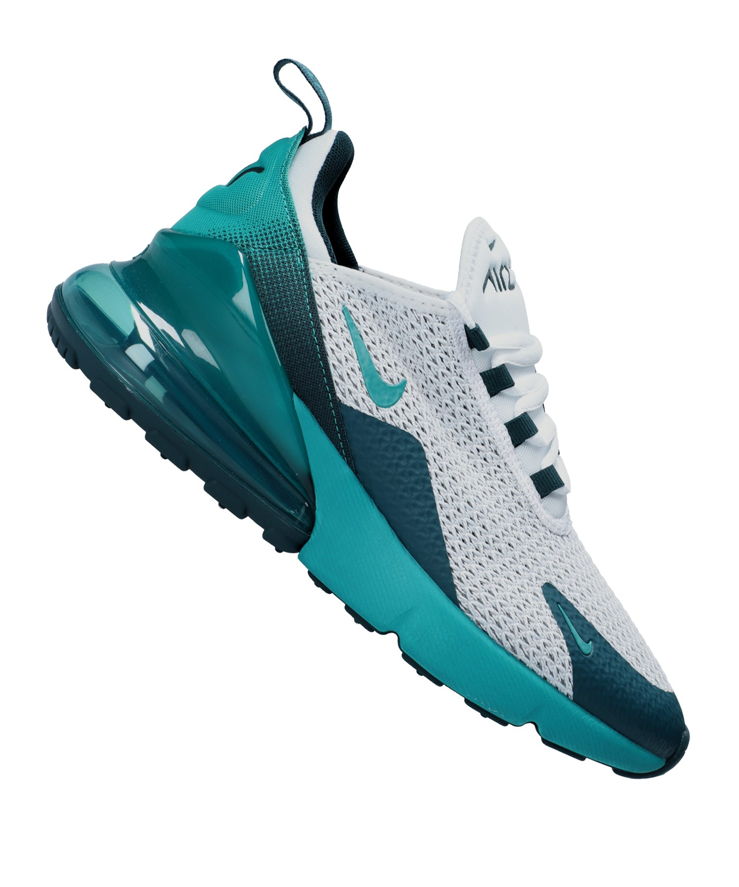 Nike Air Max 270 Sneaker Kids Weiss Blau F100