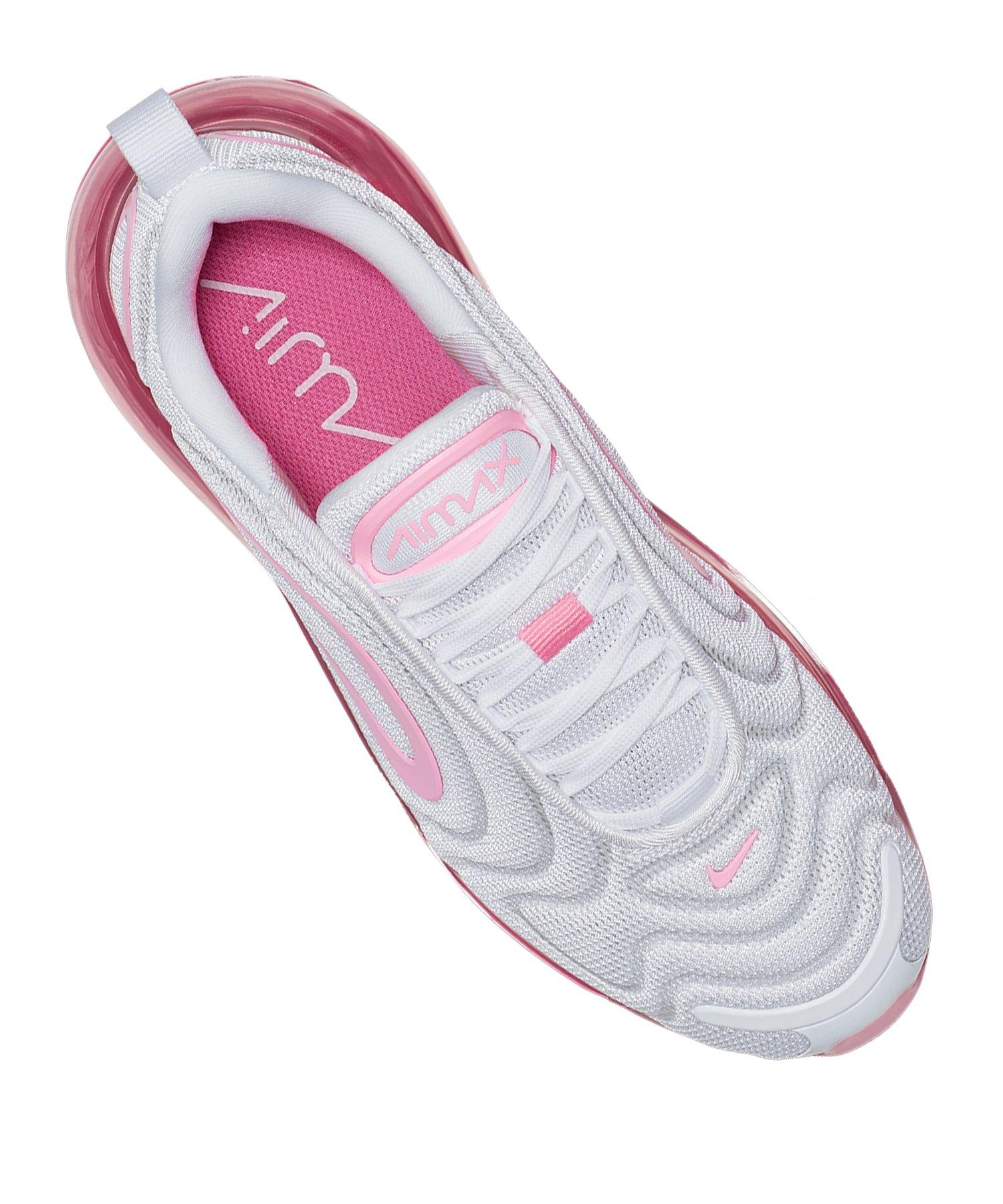 Nike Air Max 720 Sneaker Damen Weiss Pink F103