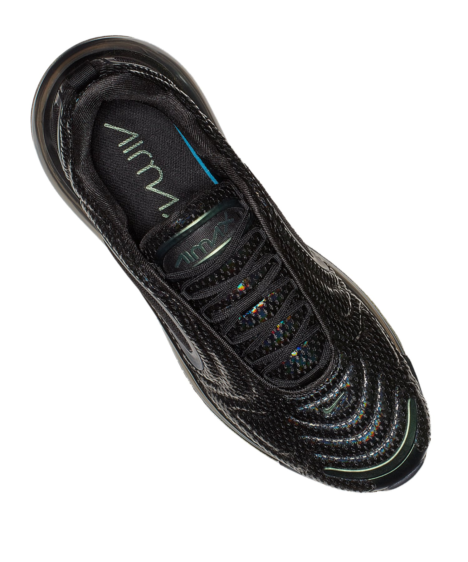 new style 4fe15 6fa62 ... Nike Air Max 720 Sneaker Schwarz Silber F003 - schwarz ...