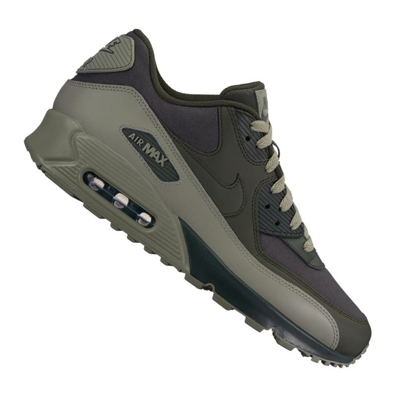 best website 4dffd bdc71 ... schwarz grau grün schuhe 3e456 f8bf2  top quality nike air max 90  essential sneaker grün f308 gruen bf206 7f6c5
