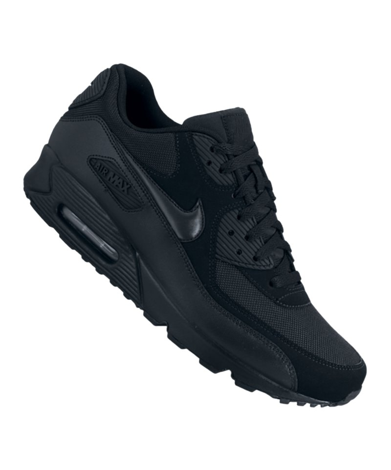 sports shoes 48ab8 ff409 Nike Air Max 90 Essential Sneaker Schuhe Lifestyle Men Herren Männer  Schwarz F090