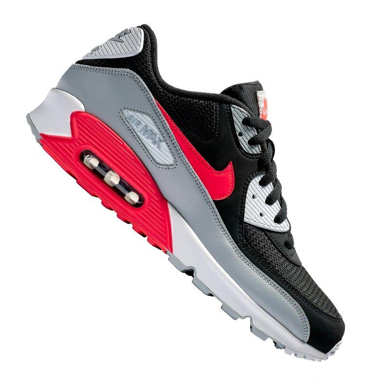 best cheap a37b4 a7cbe Nike Air Max 90 Essential Sneaker Schwarz F012 - schwarz