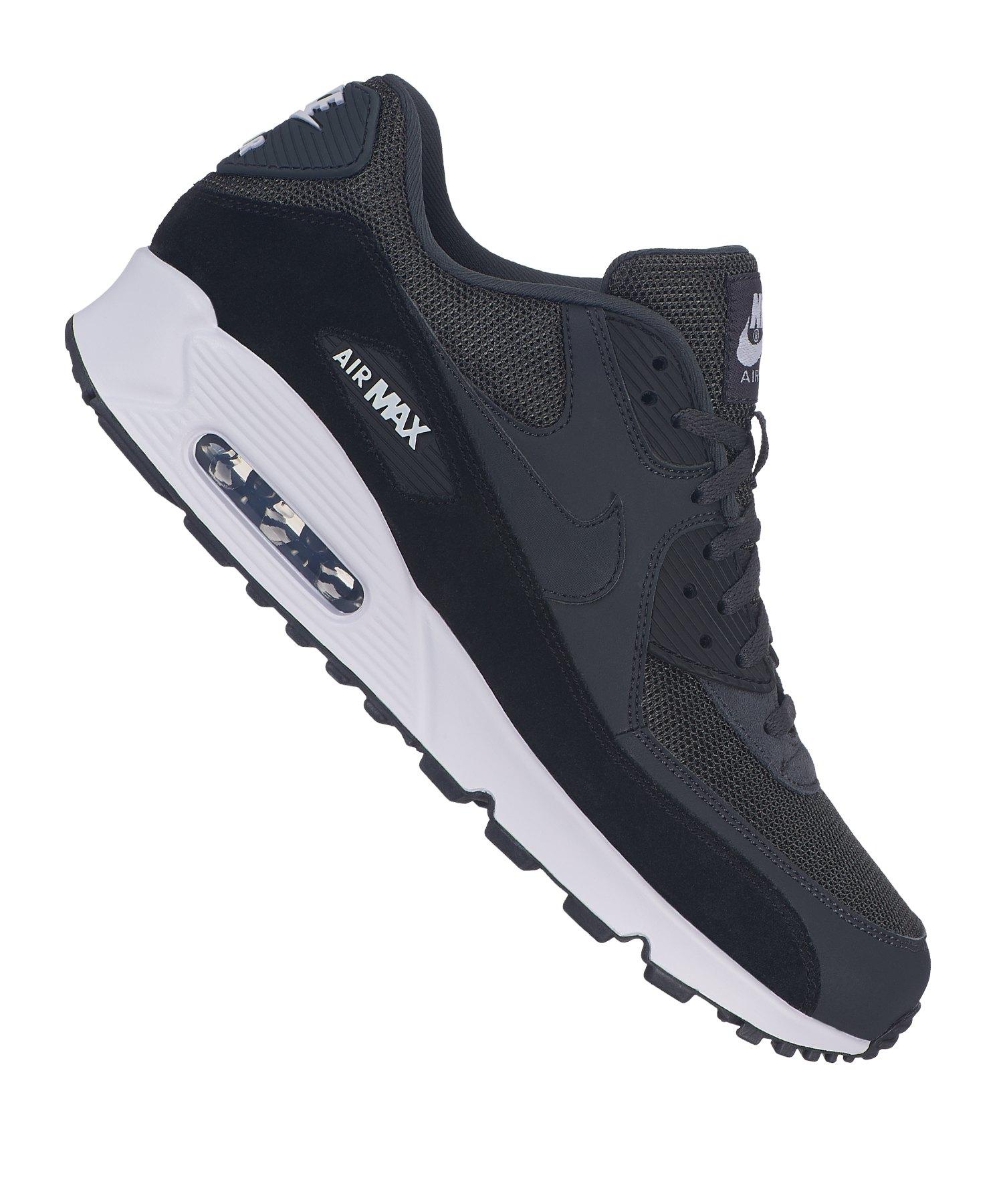 NIKE Air Max 90 Essential Herren Sneaker Schwarz