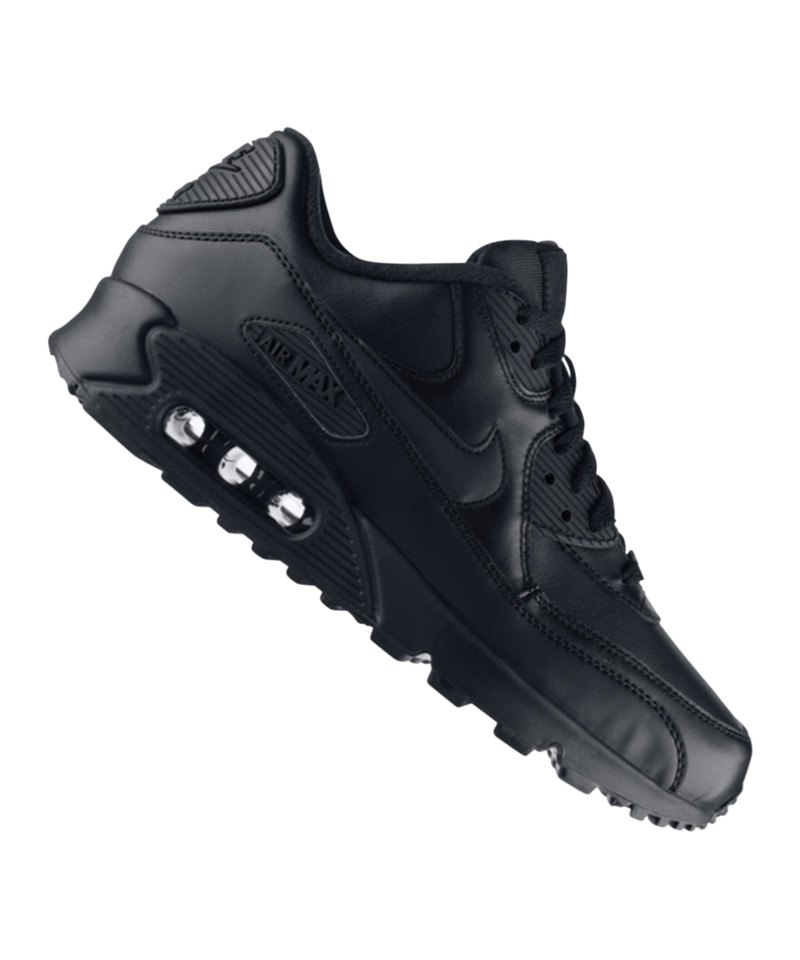 Nike Air Max 90 Leder Sneaker | Freizeitschuh | Lifestyle | Herren ...