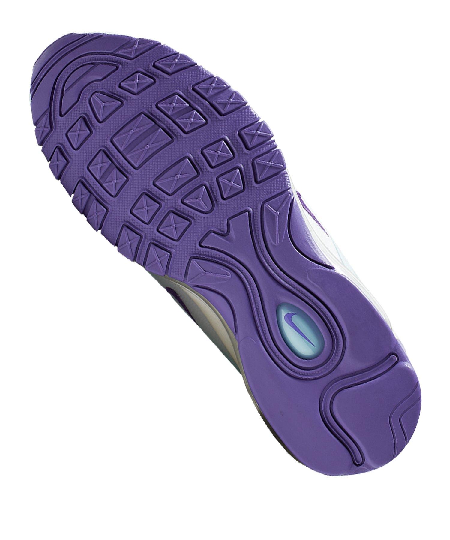 Nike Air Max 97 Sneaker Damen Blau Weiss Lila F303