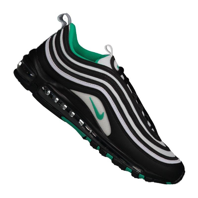 3cebe52628f6a3 Nike Air Max 97 Sneaker Grau Schwarz Grün F013 - grau