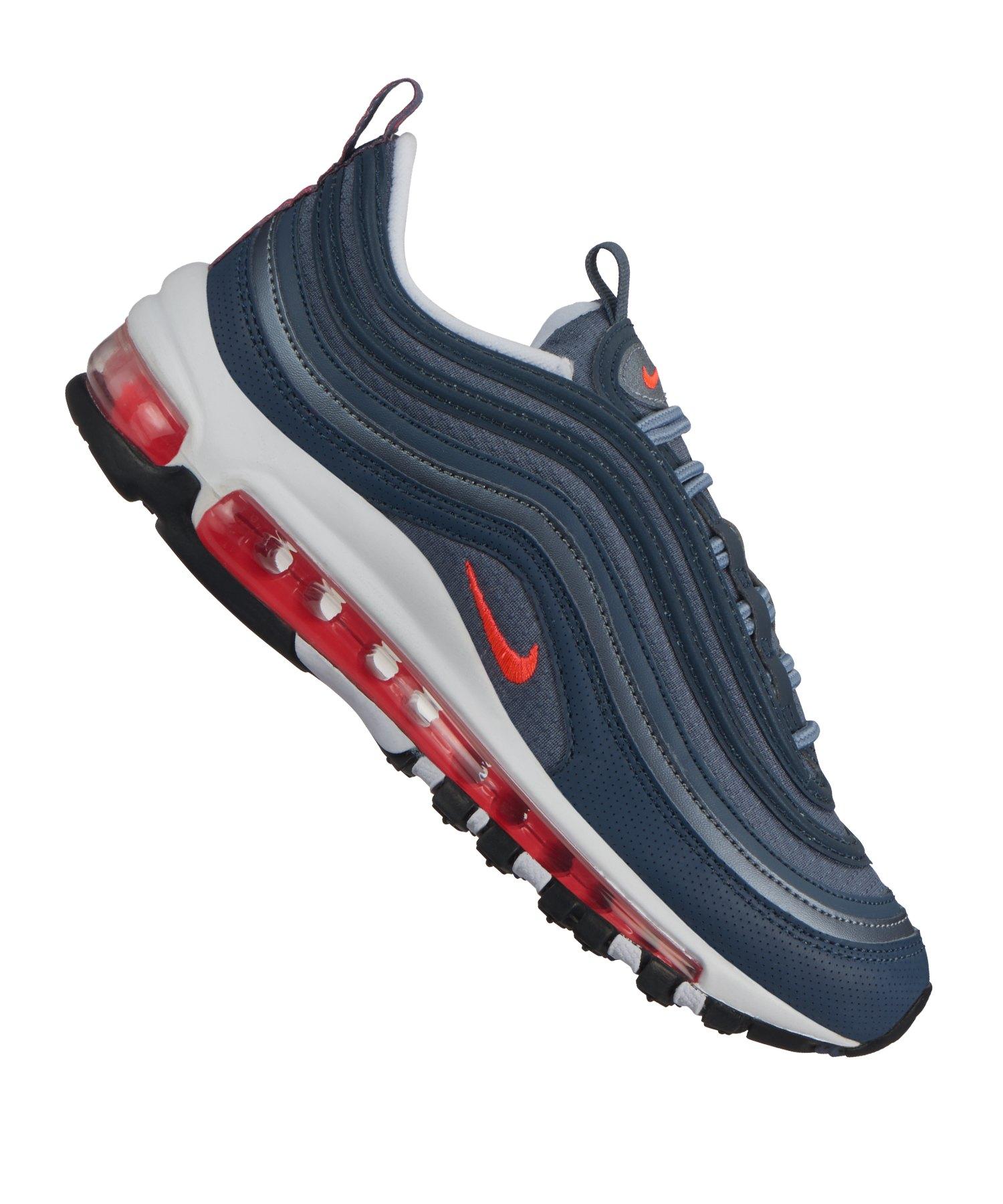 Nike Air Max 97 Sneaker Kids Blau Rot F405