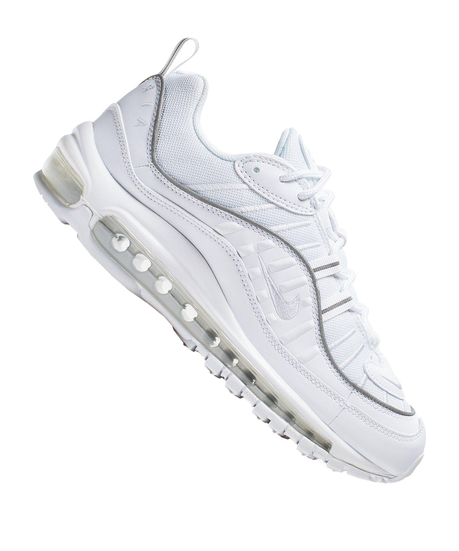 Nike Damen Air Max 95 Lifestyle Schuhe Schwarz Reflektor