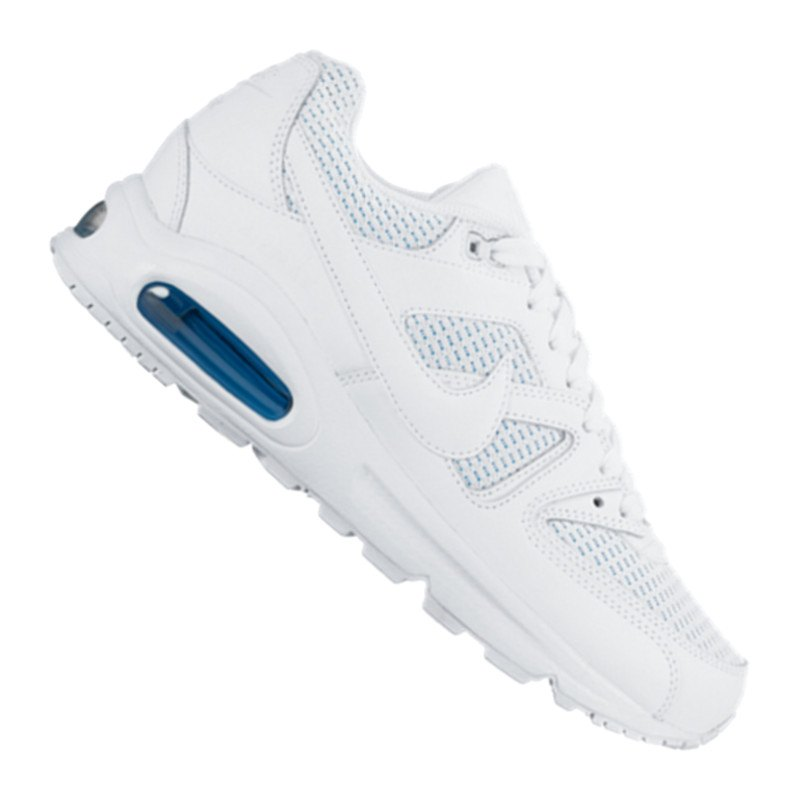 nike air max command weiss blau f123 lifestyle. Black Bedroom Furniture Sets. Home Design Ideas