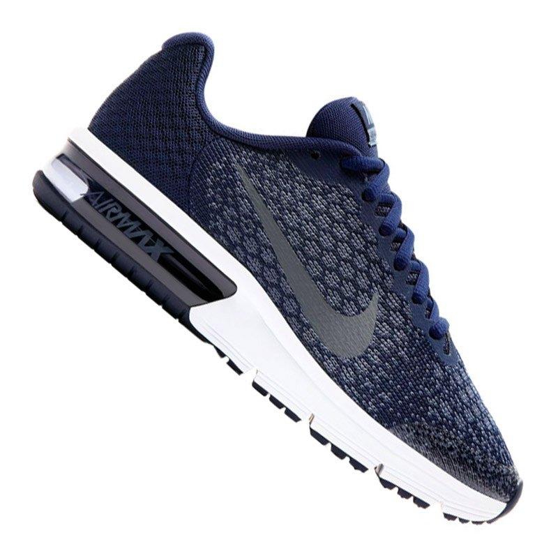Nike Air Max Sequent 2 Running Kids Blau F405 - blau