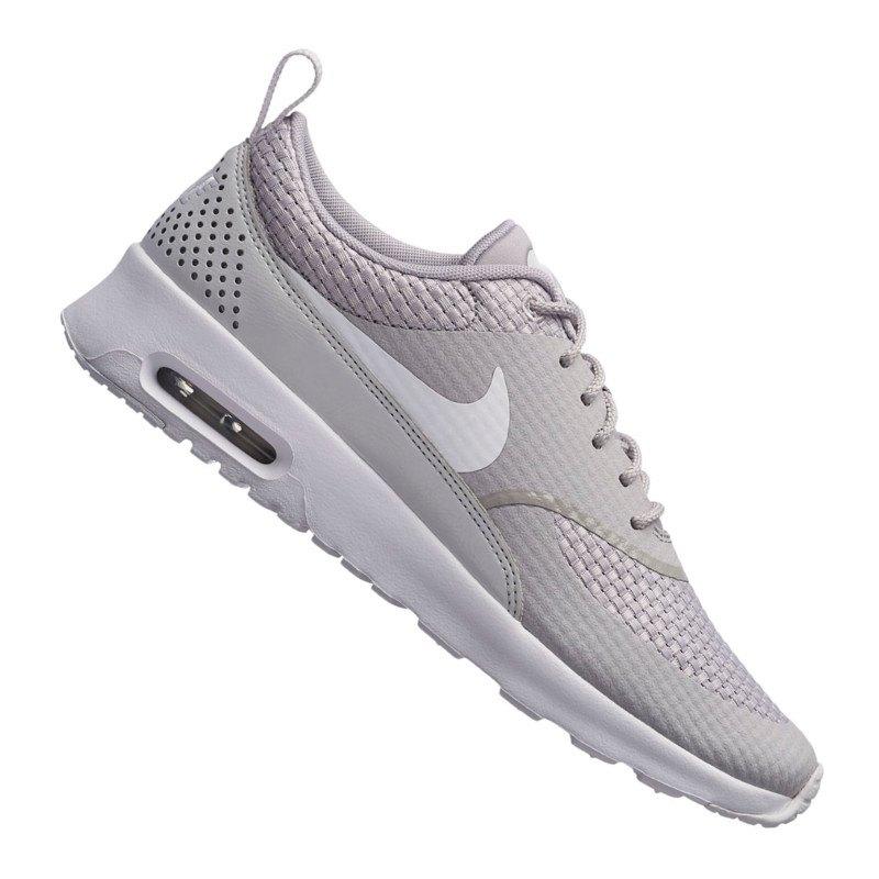 super popular 773c8 5ac08 Nike Air Max Thea Premium Damen Grau F023 | Streetwear | Turnschuhe ...
