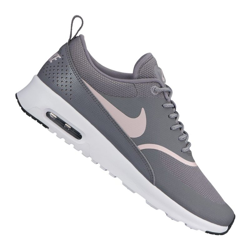 nike air max thea sneaker damen grau rosa f029 lifestyle alltag basketball style gem tlich. Black Bedroom Furniture Sets. Home Design Ideas