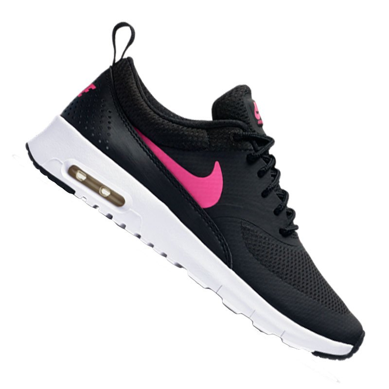 nike air max thea sneaker kids schwarz pink f001. Black Bedroom Furniture Sets. Home Design Ideas