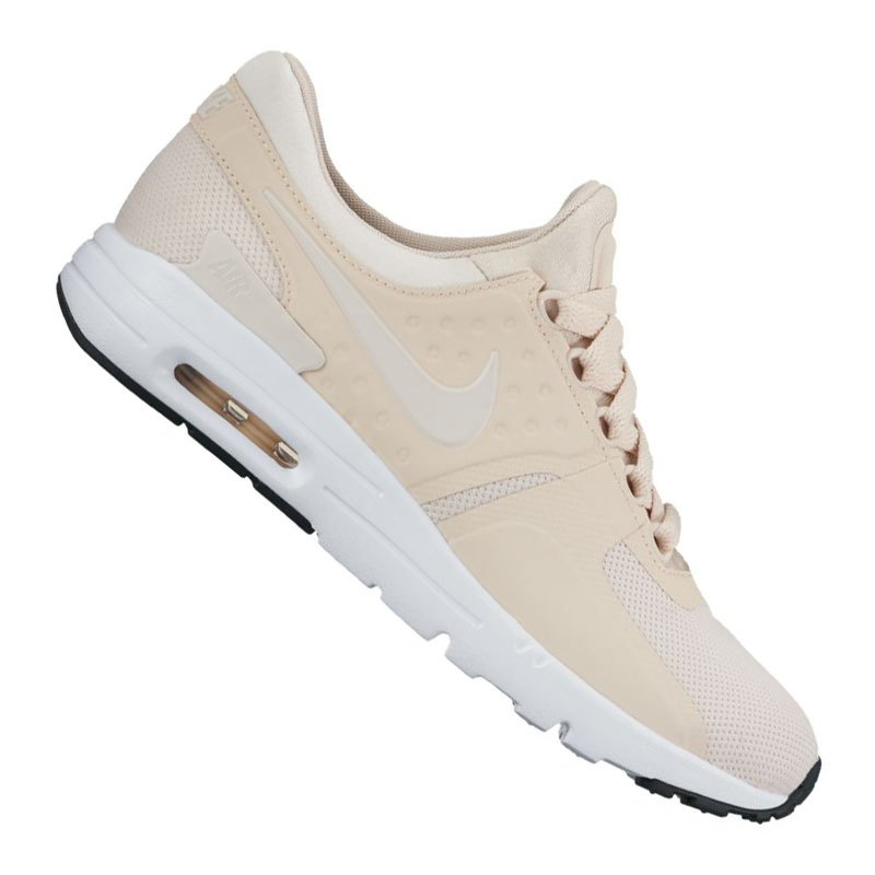 nike air max zero sneaker damen beige weiss f103 schuh shoe lifestyle freizeit damen. Black Bedroom Furniture Sets. Home Design Ideas