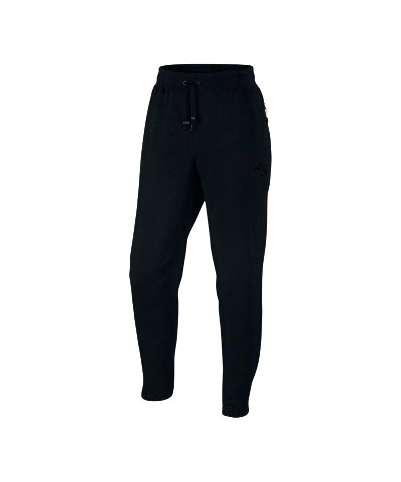 f52919ff737008 Nike Air Pant Hose lang Schwarz F010 - schwarz
