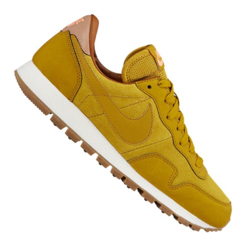 nike air pegasus 39 83 leder sneaker damen gelb f301 freizeitschuh shoe lifestyle woman. Black Bedroom Furniture Sets. Home Design Ideas