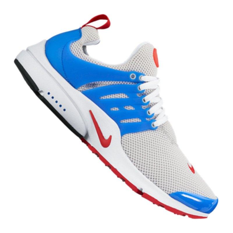 Nike Presto Grau Schwarz