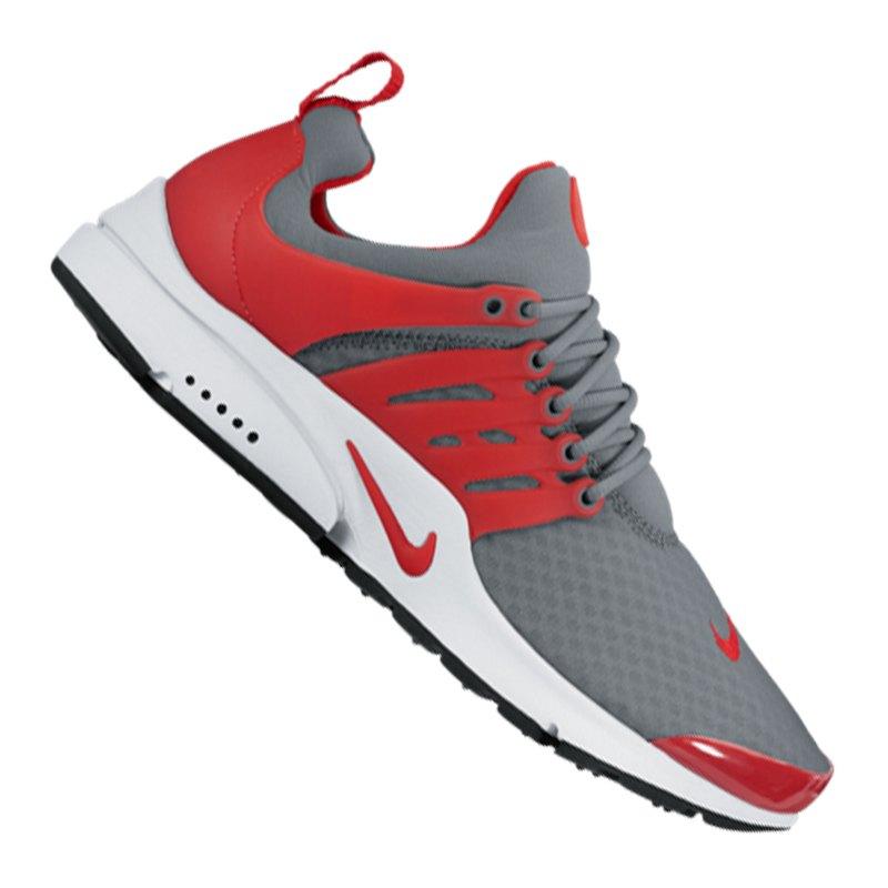 Nike Air Presto Grau Rot