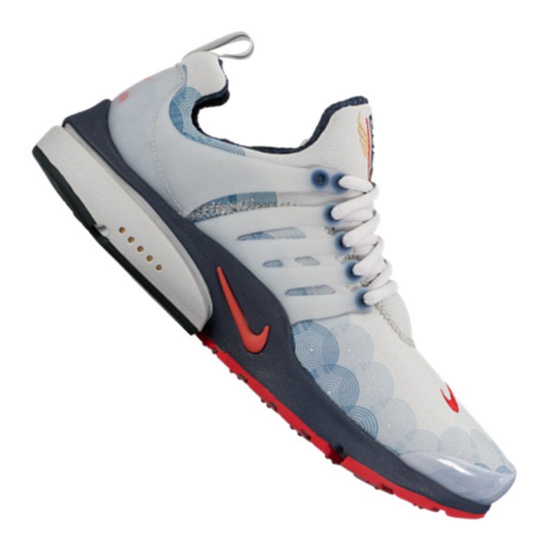 nike air presto gpx sneaker grau rot f004 schuh shoe. Black Bedroom Furniture Sets. Home Design Ideas