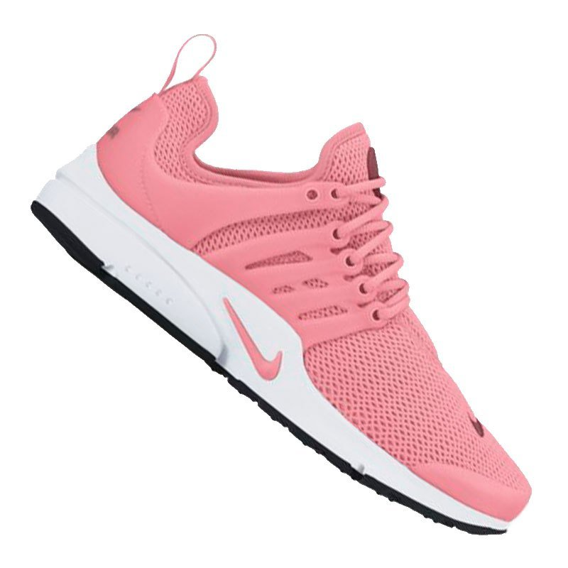 nike air presto sneaker damen rosa weiss f802 freizeit. Black Bedroom Furniture Sets. Home Design Ideas