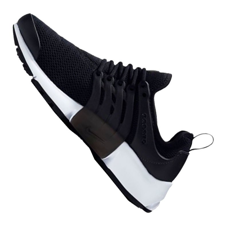 nike air presto sneaker damen schwarz weiss f001. Black Bedroom Furniture Sets. Home Design Ideas