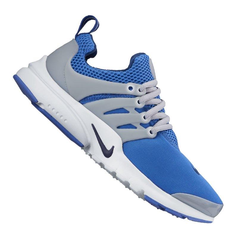 ... nike air presto sneaker kids blau grau f401 .