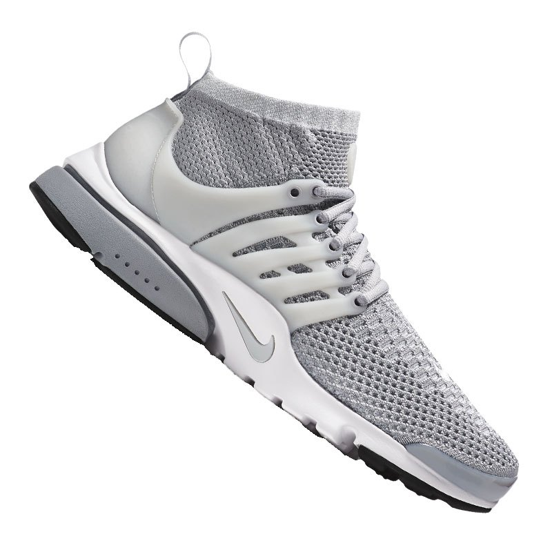 nike air presto ultra flyknit sneaker grau f002 schuh. Black Bedroom Furniture Sets. Home Design Ideas