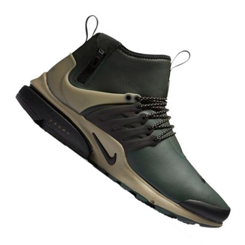 nike air presto utility mid sneaker gr n f300 freizeit. Black Bedroom Furniture Sets. Home Design Ideas