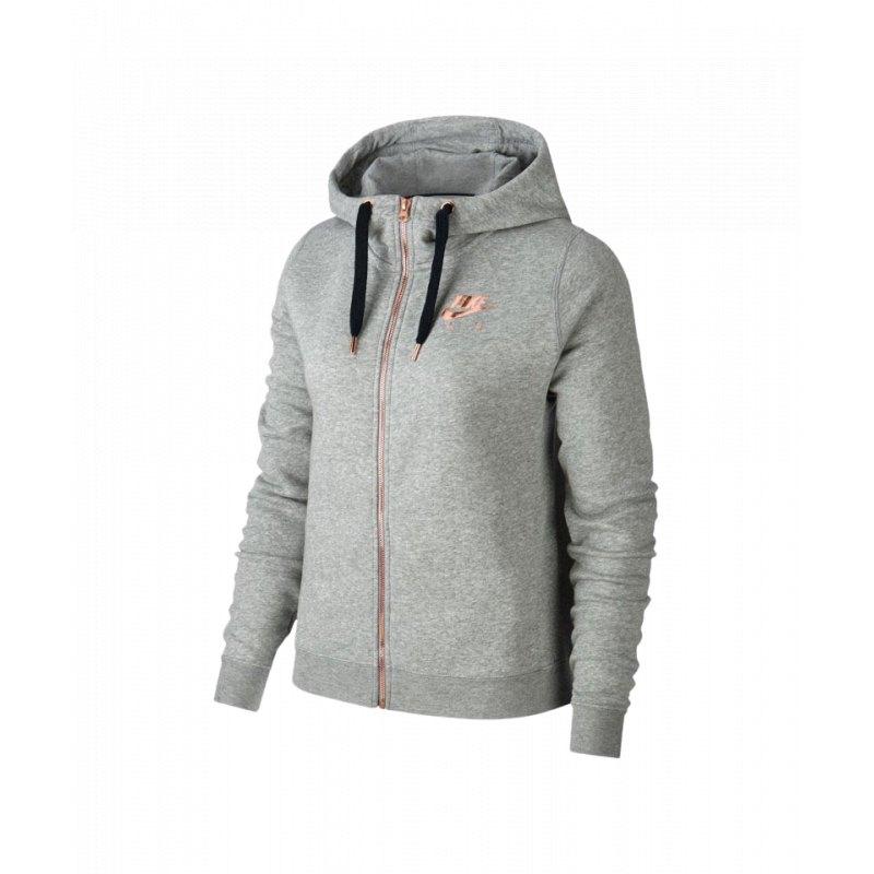 Nike Air Rally Kapuzenjacke Jacket Damen Grau F063