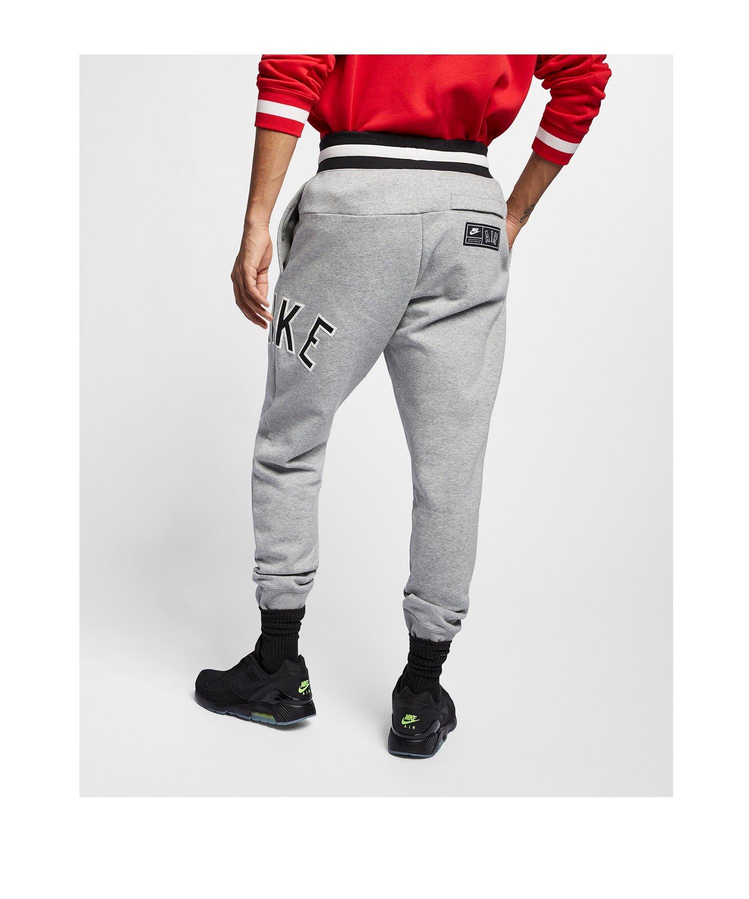 f9603721e07c48 ... Nike Air Retro Pant Jogginghose Grau F063 - Grau ...