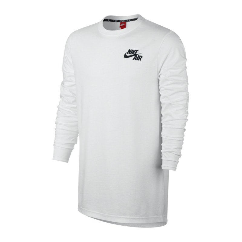 nike air top sweatshirt weiss schwarz f100 herrenbekleidung men m nner freizeit. Black Bedroom Furniture Sets. Home Design Ideas